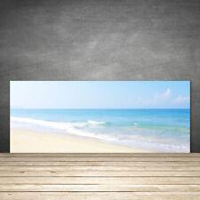 Küchenrückwand aus Glas ESG Spritzschutz 125x50cm Strand Meer Landschaft