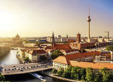 Fototapete Selbstklebend Berlin Panorama Ausblick - Made in Germany - Tapete