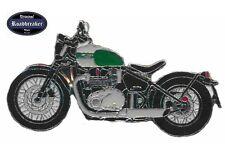 Triumph Motorradpin / Badge Modell Bobber grün 2017 Nr.1275