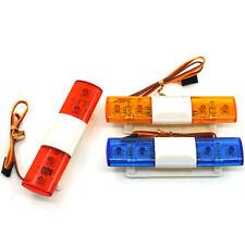 4.8-6V Police Night Flash Bright LED Light 360 Degree Rotation For 1:10 RC Car