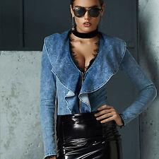 By Alina Body Damenbody Jeansbody Jeanstop Jeans Shirt Oberteil Bluse Damentop