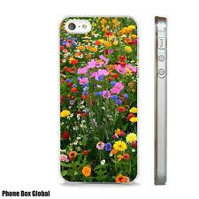 WILD FLOWERS NATURE BRIGHT  CASE FITS  IPHONE 4 4S 5 5S 5C 6 6S 7 8 SE PLUS X