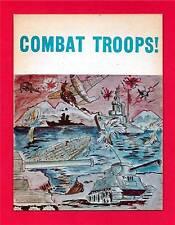 Old Combat Trops War Scene Toy Vending Machine Sign