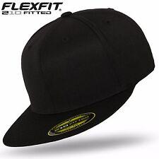 Original FLEXFIT® 210 Premium Fitted Basecap Baseball Cap Kappe black / black