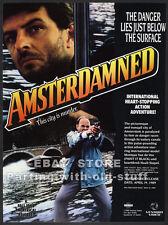 AMSTERDAMNED__Original 1989 Trade AD movie promo__HUUB STAPEL_Monique van de Ven