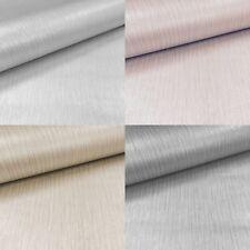Muriva Luxury Texture Lustre 4 Colour Linear Plain Shiny Finish Wallpaper