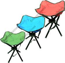 Brand NEW pieghevole portatile pesca escursionismo Camping Outdoors 4 gambe sgabello sedile