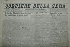 """"""" CORRIERE DELLA SERA """" N° 294  del 11 DIC.1931 ( ORIGINALE D'EPOCA ! )"""
