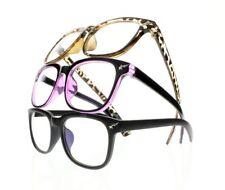 Unisex Big Square Nerd Geek Frame Lightweight Reading Glasses +1.0~+4.0 Eyewear