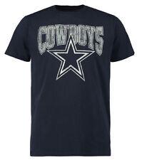 NFL Dallas Cowboys Mens Admission Short Sleeve T-Shirt - Navy Blue