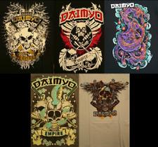Daimyo Mens T-shirts / Various Styles / Small