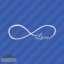 Infinite Love Infinity Loop Vinyl Decal Sticker