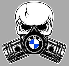 BMW Pistons skull Sticker