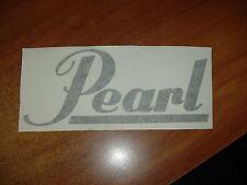 """""""PEARL"""" - VINYL DRUM STICKER - NEW"""