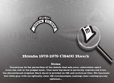 HONDA CB400 CB400A CB400TII CB400TI HAWK TANK TOP DECAL