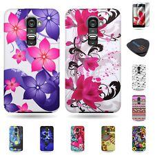 For LG G2 VS980 Verizon Case Hard Plastic Various Design Covers