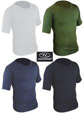 Mens Short Sleeve Vest T Shirt Thermal Top T-shirt Warm Underwear Base Layer New