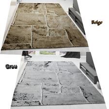 Tapis steinboden marbre optique création moderne Tapis salon marron / NEUF