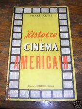 histoire du cinéma américain de pierre artis