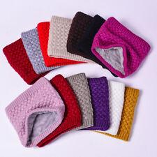 Crochet Button Shawls Women Warm Scarves Knitted Neck Warmers Winter Wrap Gifts