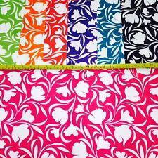 Muestra solamente-Floral Tela Impermeable (PVH), ideal para cojines al aire libre