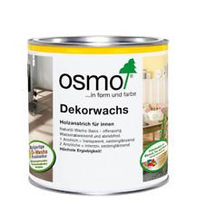 Osmo Dekorwachs 3101 transparent farblos 0,125/0,375 L=64€/L