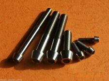 Titanium Bolts Gr5 M6 X 15mm Taper Head Grade 5