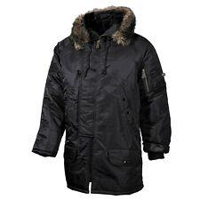 Señores polar chaqueta n3b invierno chaqueta cazadora Parka outdoor capucha transpirable