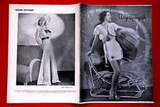HELEN WOOD COVER CLAIRE TREVOR 1936 RARE EXYU MAGAZINE