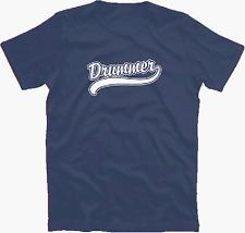 DRUMMER Drums drumkit croupie band music neu  T-Shirt S-XXXL neu