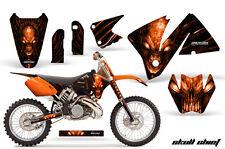 KTM 2001-2002 EXC 200/250/300/350/400/520 and MXC 200/300 GRAPHICS KIT SCO