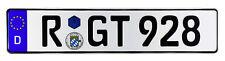 Regensberg German Euro License Plate by Z Plates
