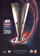 JOHNSTONES PAINT TROPHY FINAL  2012: Chesterfield v Swindon Town