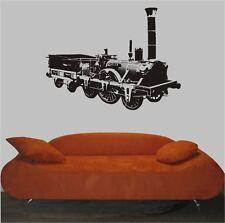 Wandtattoo - ADLER - Dampflokomotive - Lokomotive - Zug - Wandaufkleber