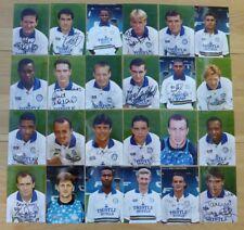 1993-95 Leeds United Signed Official Club Photographs £8 Each inc. Rare Names