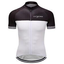 Mens Bike Bicycle Cycling Jersey Short Sleeve Clothing Sport Biking Shirts S-3XL