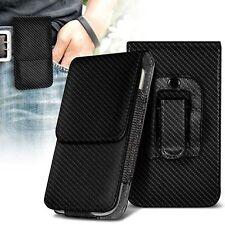 Vertical bolsa de Calidad de clip de cinturón pistolera Top Abatible Estuche Soporte ✔ de fibra de carbono negro