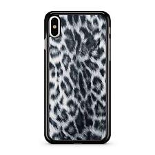 Furia Blancas Leopardo Ejército Guerra Piel Animal Estampado De Camuflaje 2D Teléfono Estuche Cubierta