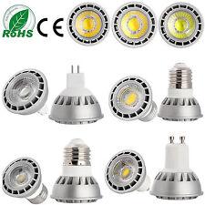 Ultra Bright 15W E27/GU10/MR16 Dimmable LED Spotlight COB Lights Bulb CREE Lamp