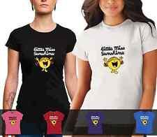 LADIES Little Miss Sunshine Tshirt cotton