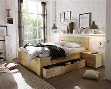 Massivholzbett Catania Doppelbett Bett Massiv Kernbuche NEU OVP
