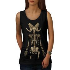 Skeleton Satan Horror Women Tank Top NEW | Wellcoda