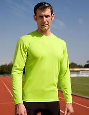 Mens Quick Dry Trainings Longsleeve T-Shirt   SPIRO