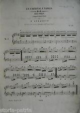 TEATRO_MUSICA_MUSICISTI_M. STRAKOSCH_CARNEVALE A NAPOLI_RARA ANTICA EDIZIONE_800