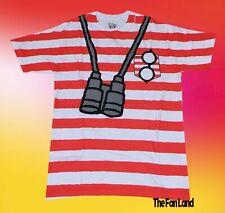 New Where's Waldo 1987 Costume Mens Retro Vintage T-Shirt