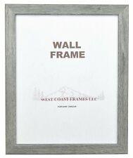 72030 Gray Barnwood Finish Picture Frame
