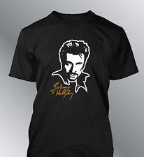 Tee shirt Johnny Hallyday S M L XL XXL homme chanteur rock francais harley