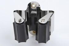 Gerätehalter 23mm, vernickelt, 2 Stück (6016-2)