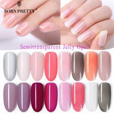 BORN PRETTY Semitransparent Jelly UV Gel Polish Multi-colors Opal Nail Art 6ml