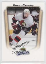 2005-06 Upper Deck MVP #266 Dany Heatley Ottawa Senators Hockey Card